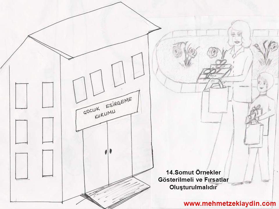 14.Somut Örnekler Gösterilmeli ve Fırsatlar Oluşturulmalıdır www.mehmetzekiaydin.com