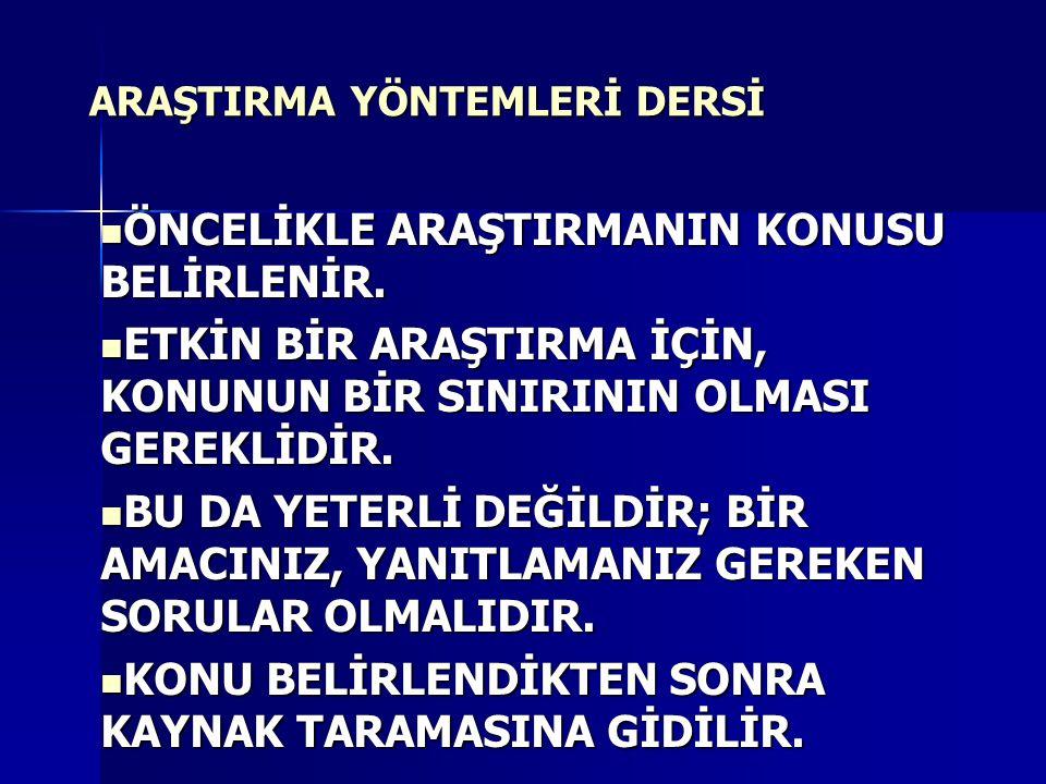 DİPNOT GÖSTERME YÖNTEMLERİ 1.TÜRKÇE KISALTMALARLA 2.