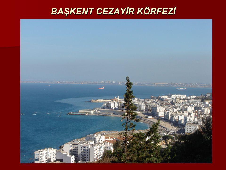 TARİHÇE (I)  Cezayir'de yerleşik bulunan ilk topluluk Berberiler; (Kolları: Kabiller, Tuaregler, Şaviler ve Mozabitler)  İspanyolların 1505 yılında Mers–El-Kebir ve 1509 yılında Oran şehrini işgali  Osmanlı İmparatorluğunun yardıma çağırılması  Oruç Reis ve Barbaros Hayreddin Paşa'nın 1514'de, Yeniçeriler'in 1518'de Cezayir'e gelişi  1830 yılındaki Fransız işgaline kadar devam eden Osmanlı yönetimi; Beylerbeyi (1516-1587), Paşa (1587-1671) ve Dayılar (1671-1830)
