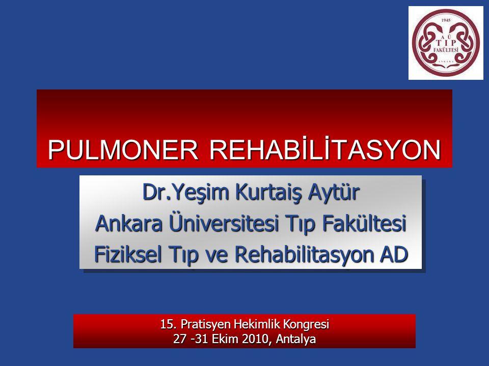 15. Pratisyen Hekimlik Kongresi 27 -31 Ekim 2010, Antalya YKA