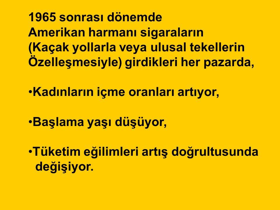 Philip Morris, Aralık 1989, 2501479900/0052 ….Sigara karşıtı insiyatifler bilinen sağlık gerekçelerini kullanarak Türkiye'de de ortaya çıkmaya başladı…….
