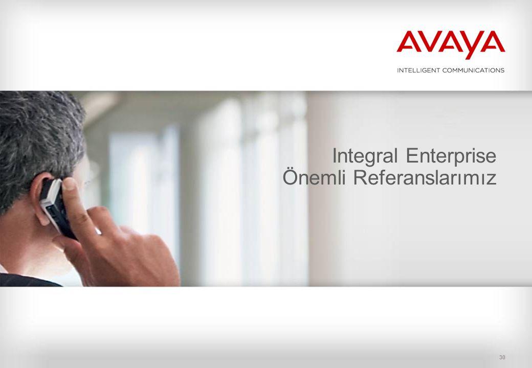 30 Integral Enterprise Önemli Referanslarımız