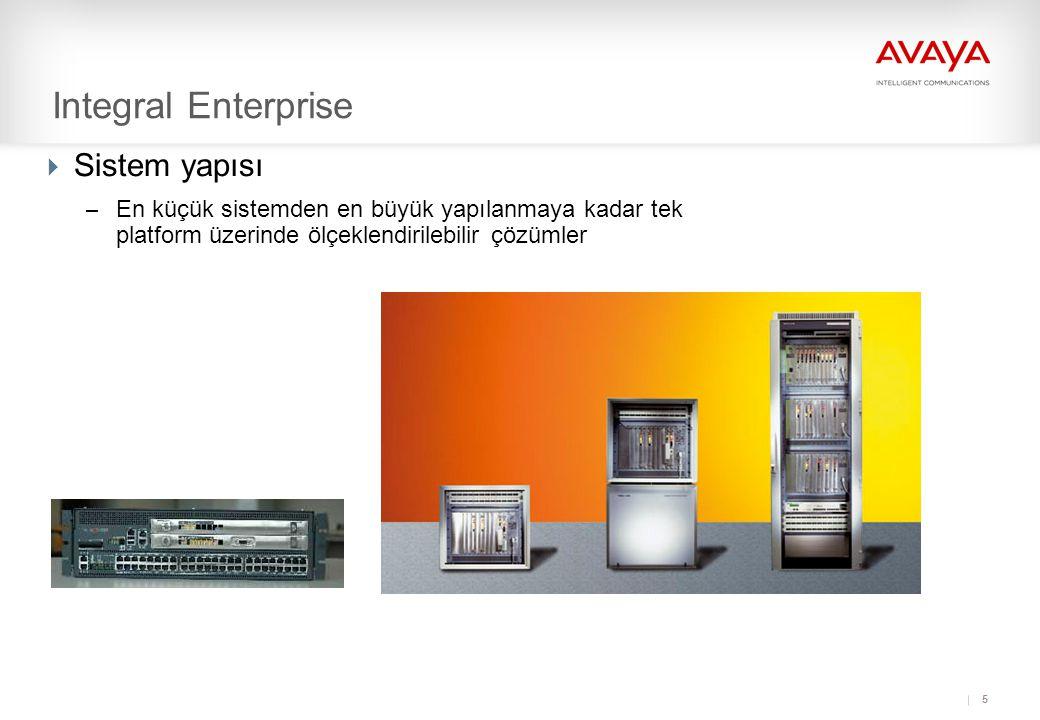 26 Integral Enterprise Örnek Network Uygulamaları
