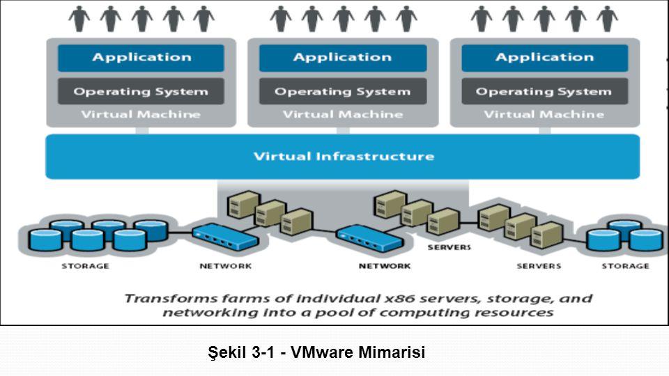 Şekil 3-1 - VMware Mimarisi