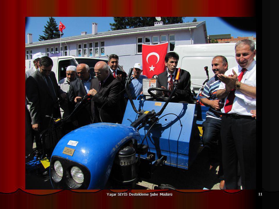 Yaşar SEYİS Destekleme Şube Müdürü 11