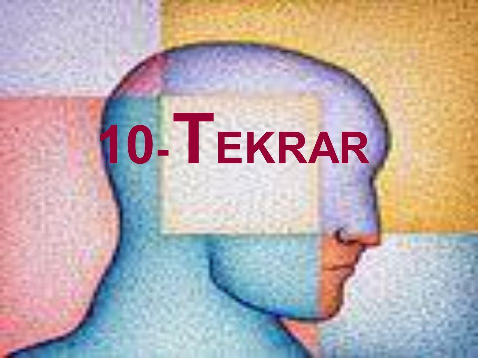 10 - T EKRAR