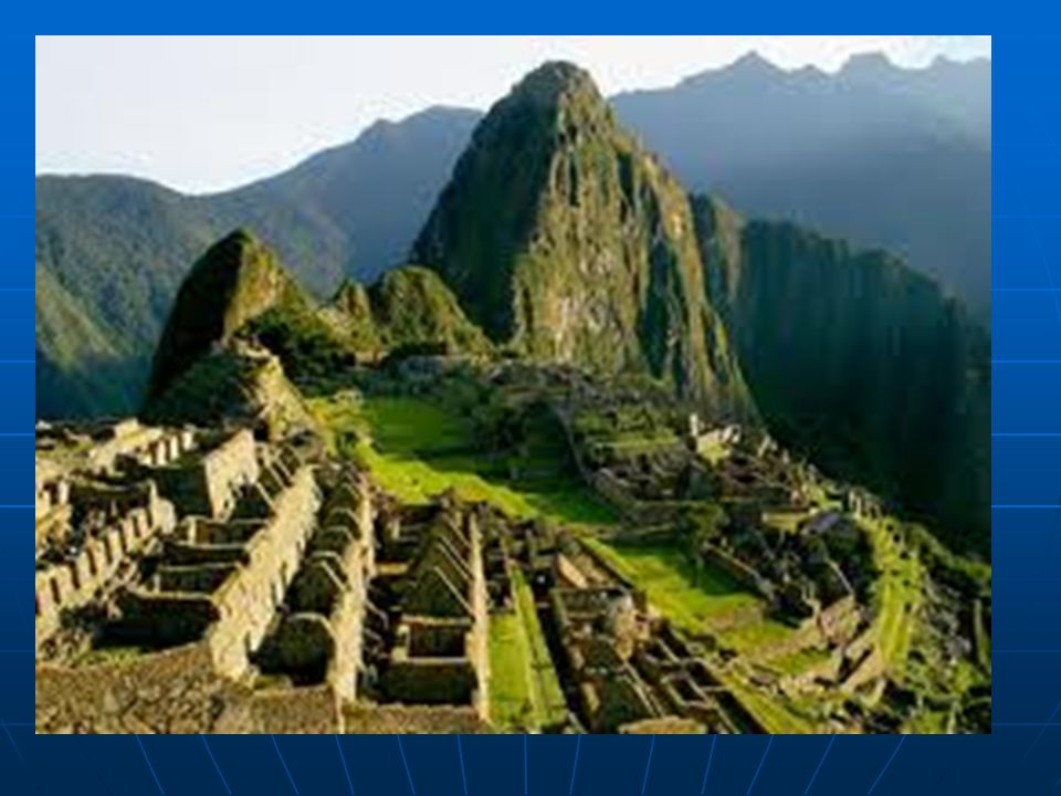   Machu Picchu (okunuş: Maçu Piççu veya Maçu Piçu [1], Quechua: Machu Picchu), bugüne kadar çok iyi korunarak gelmiş olan bir İnka antik şehridir.7
