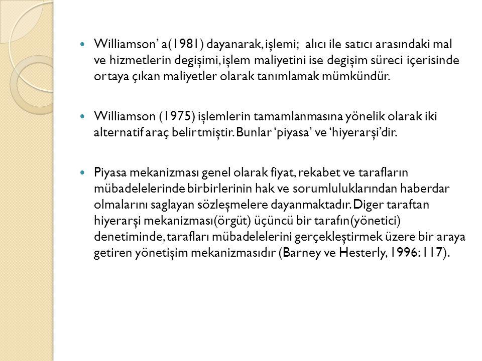 Kaynaklar  Basım, H.N., Sözen H.C.(2012). Örgüt Kuramları.