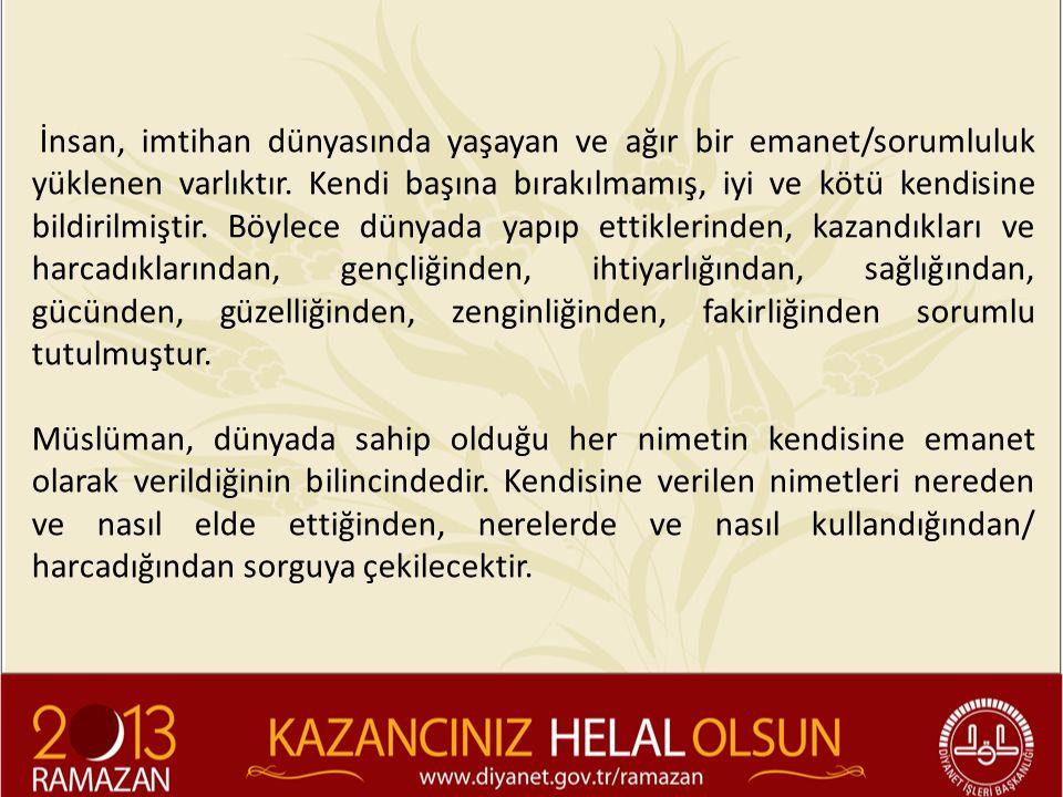 Abdulkadir Geylani: o Haram yemek kalbi öldürür.Helal yemek ise onu ihya eder.