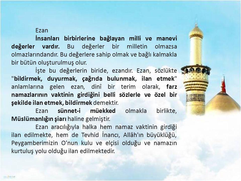 اِنَّنى اَنَا اللّٰهُ لَا اِلٰهَ اِلَّا اَنَا فَاعْبُدْنى وَاَقِمِ الصَّلٰوةَ لِذِكْرى Şüphesiz ki ben Allah'ım.