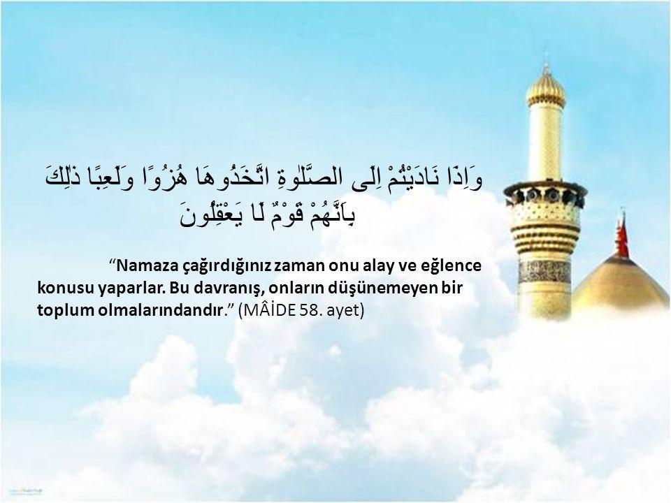 Allah vardır ve birdir, eşi, benzeri, ondan başka hiçbir ilah yoktur.