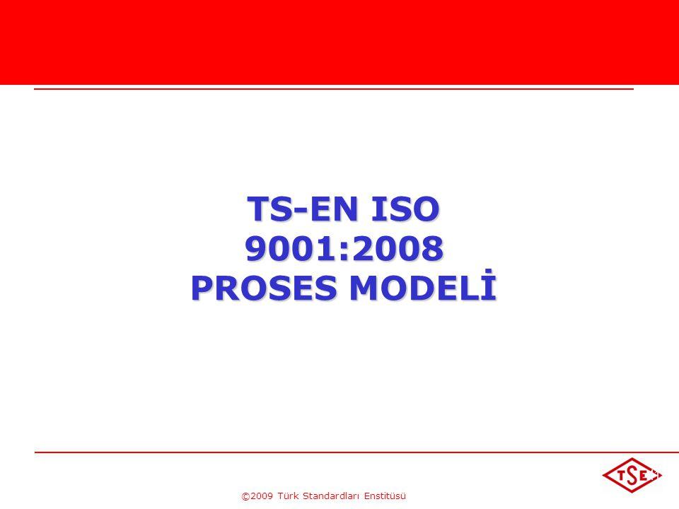©2009 Türk Standardları Enstitüsü Sıralama, etkileşim, kriter ve metotların belirlenmesi (madde 4.1 a.b.c) Planlamanın uygulanması (madde 4.1 d) Ölçme