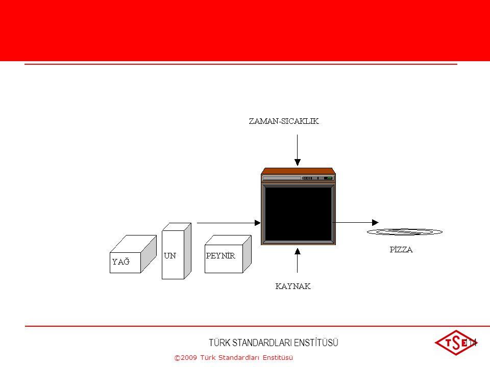 ©2009 Türk Standardları Enstitüsü TÜRK STANDARDLARI ENSTİTÜSÜ113 Proses Yaklaşımı Proses Yaklaşımı Kuruluş içinde proseslerin sisteminin uygulanması,