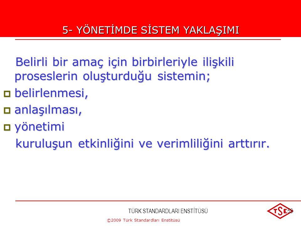 ©2009 Türk Standardları Enstitüsü TÜRK STANDARDLARI ENSTİTÜSÜ58Uygulama 1. Sonuca ulaşmak için proseslerin tarifi 2. Proseslerin kuruluş fonksiyonları