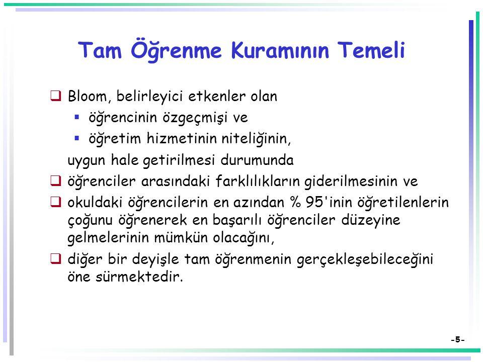 -25- Kaynakça  Bilen, M.(1999). Plandan uygulamaya öğretim.