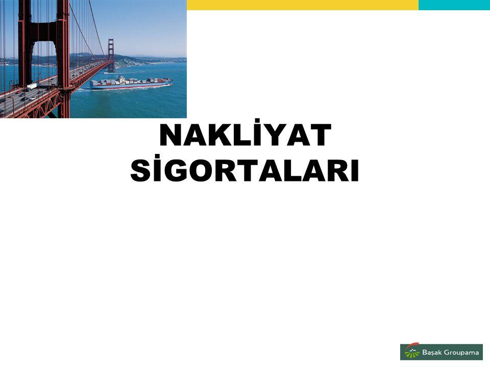 1) Emtea ve Kıymet Sigortaları 2) Tekne Sigortaları Ticari Tekne Sigortaları Tekne İnşaat Sigortaları Yat Sigortaları 3) Sorumluluk Sigortaları Denizcilik Sektöründeki İşletmelerin Sorumluluk Sigortası T.M.M.