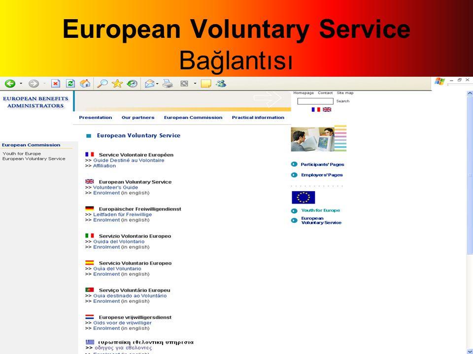 European Voluntary Service Bağlantısı