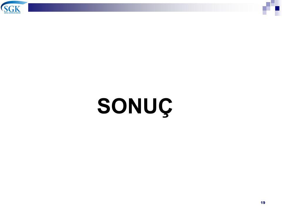 SONUÇ 19