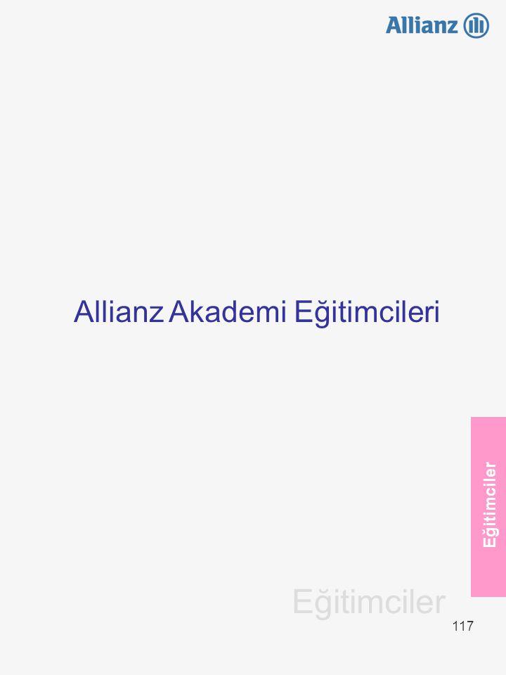 117 Eğitimciler Allianz Akademi Eğitimcileri