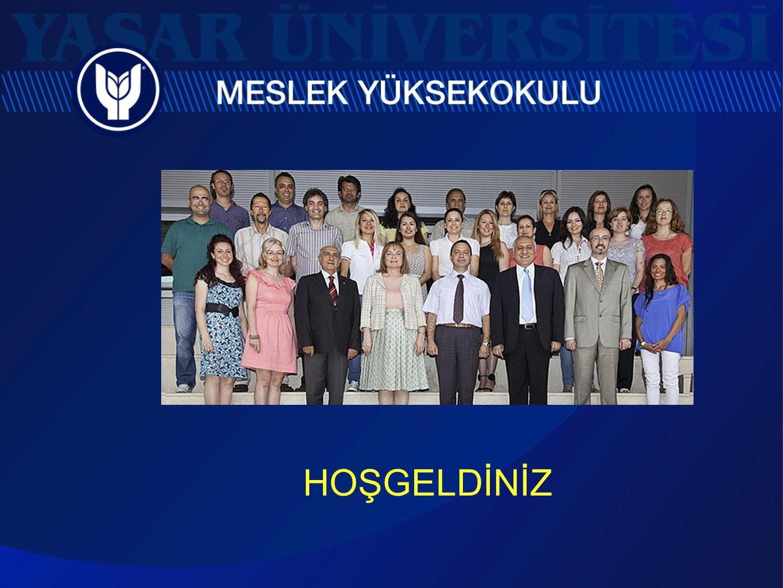 2013 - 2014 Akademik Yılı Meslek Yüksekokulu Bölümleri