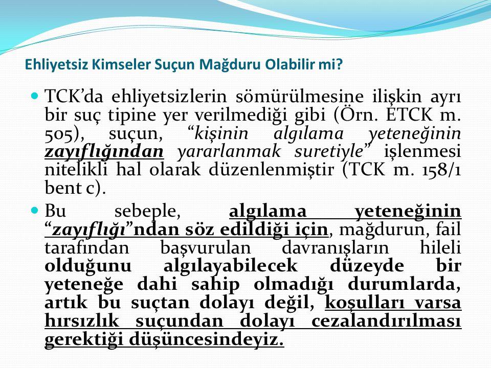 Fiil ve Netice  TCK m.