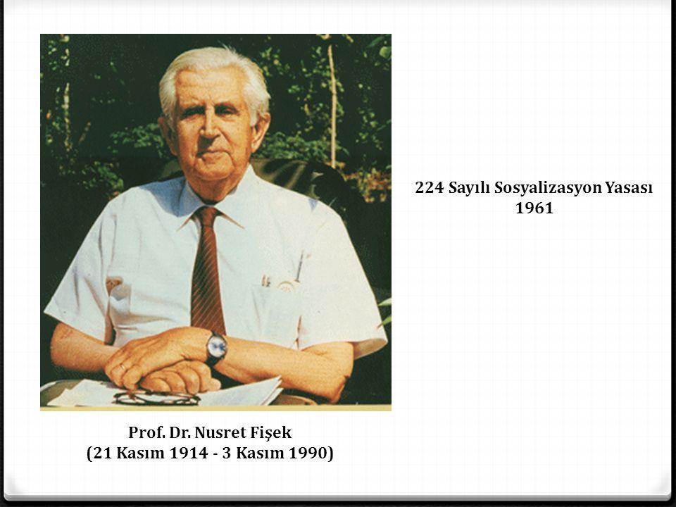 Sağlıkta Dönüşüm Süreci 1982 Anayassı; Kanun No.: 2709 Kabul Tarihi: 7.11.1982 VIII.