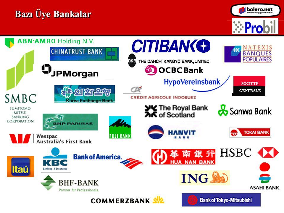 Bazı Üye Bankalar SOCIETE GENERALE