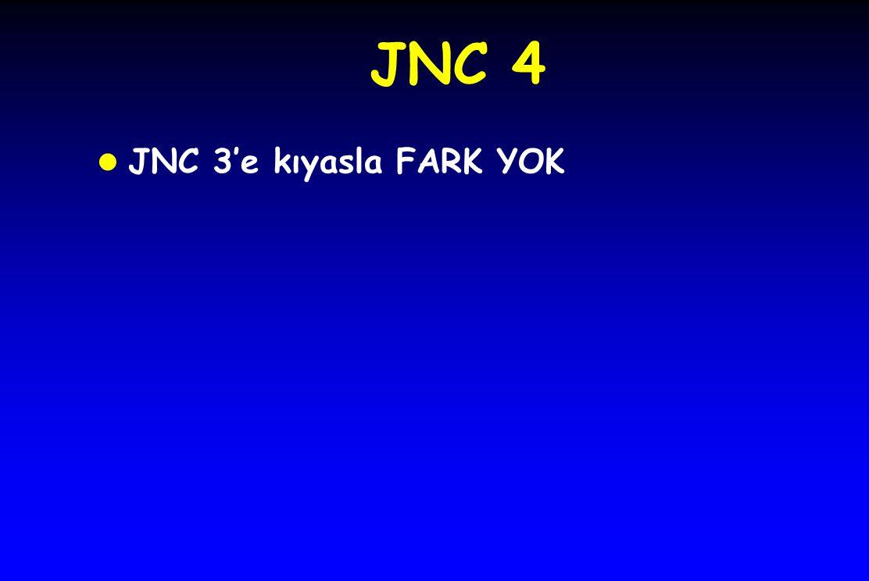 JNC 4 l JNC 3'e kıyasla FARK YOK