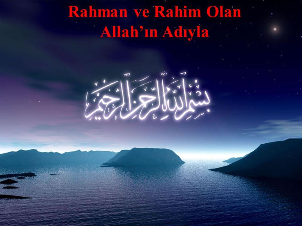 •Efendimiz, insan haklarını Allah`a saygının bir ifadesi olarak kabul ediyordu.