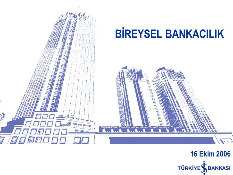 16 Ekim 2006 BİREYSEL BANKACILIK