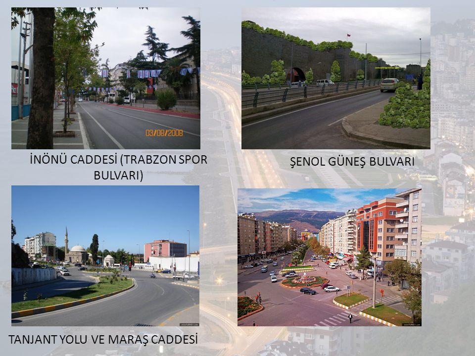 MEVCUT YOLLAR Nitelik ve işlevi bakımından Trabzon'daki yollar dört grupta incelenebilir.