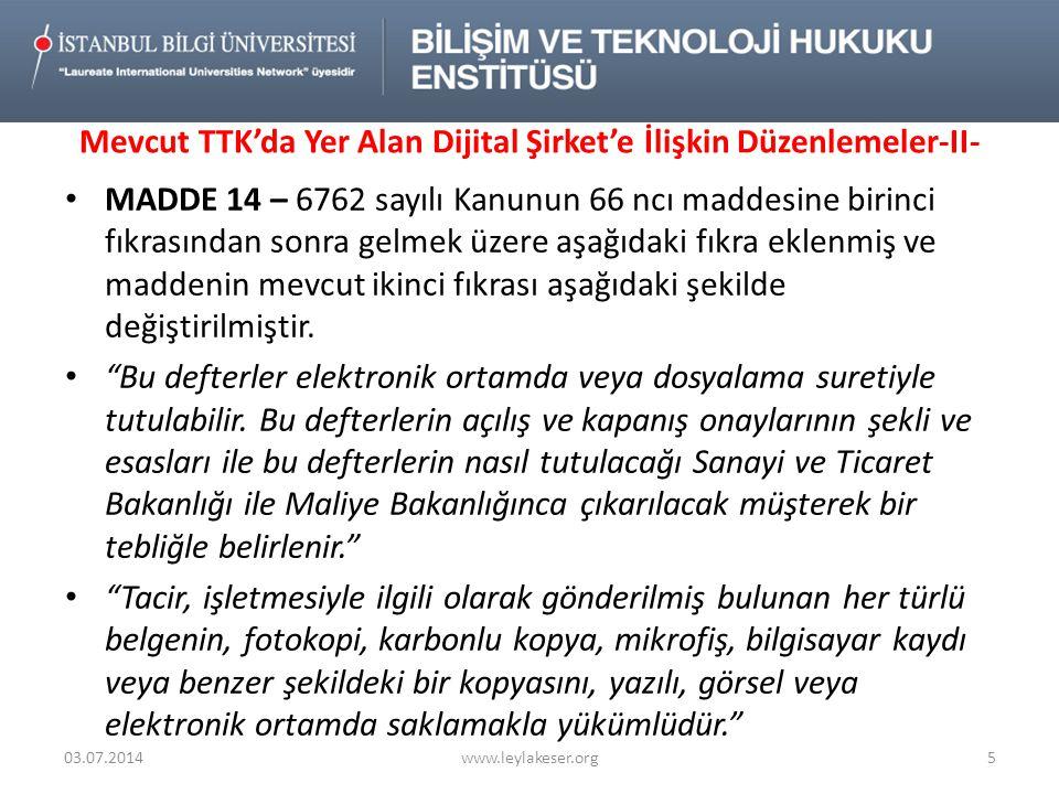 Elektronik Ticari Defterlerin Tutulması Esasları II - Defterlerin tutulması MADDE 65 - (1) Defterler ve gerekli diğer kayıtlar Türkçe tutulur.