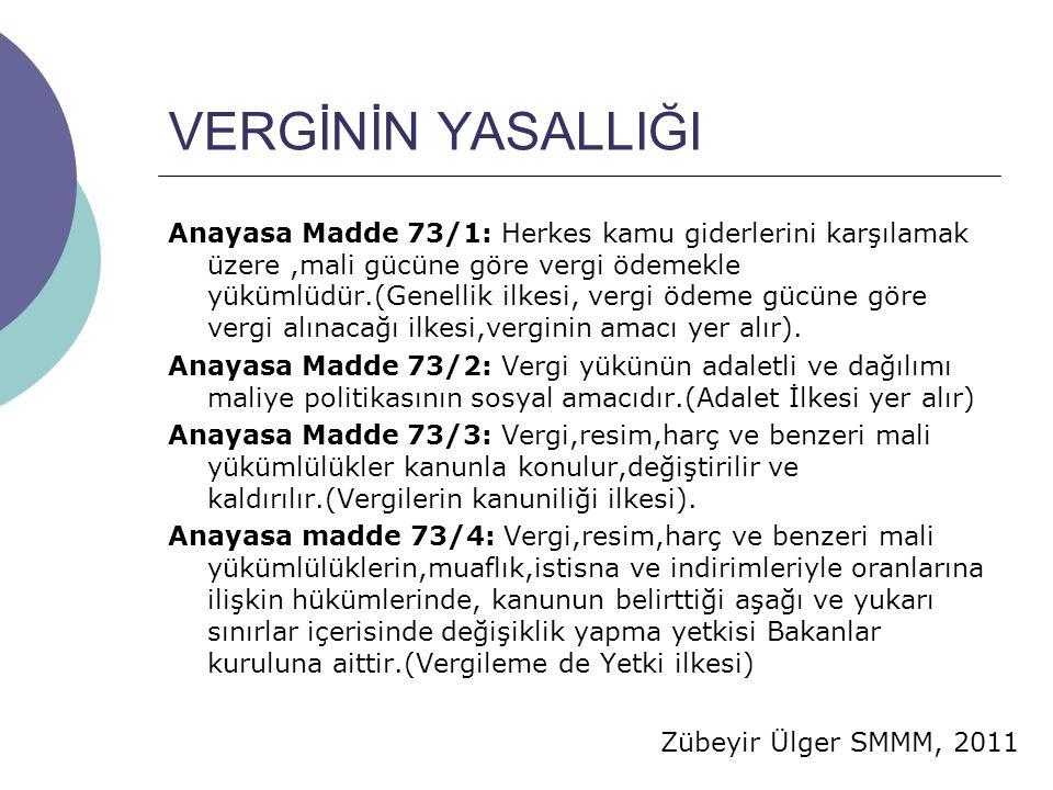 Zübeyir Ülger SMMM, 2011 GİDERLER İNDİRİLECEK/İNDİRİLEMEYECEK GİDERLER İndirilecek Giderler KKE.