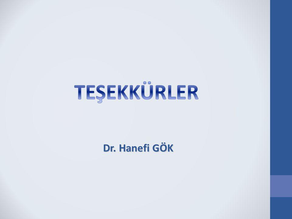 Dr. Hanefi GÖK