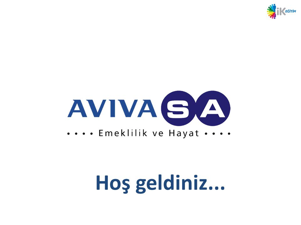 AvivaSA Nisan 13 tarihi itibariyle %43 %17 %12 %28 %63 %37 Çok Genç Bir ŞirketizDaha Çok Kadın Çalışanlarımız Var