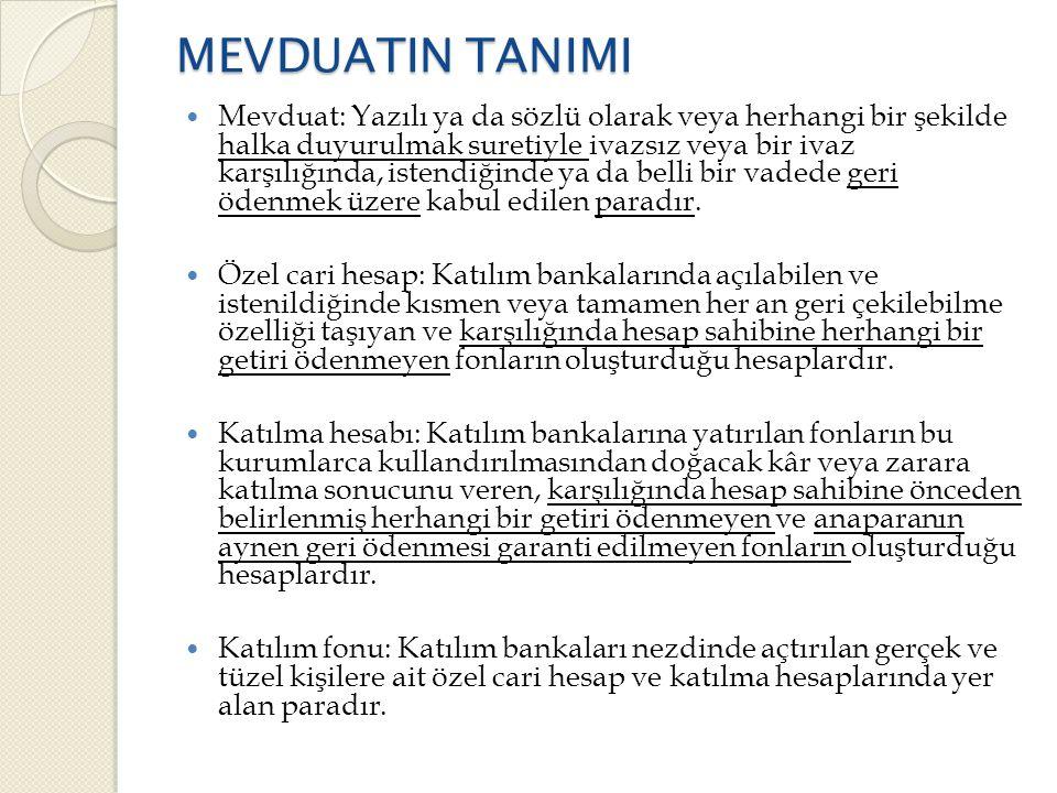 1.3.Yedek Akçeler  Türk Ticaret Kanunu uyarınca ayrılacak yedek akçeler ◦ Kanuni Yedek Akçe  I.