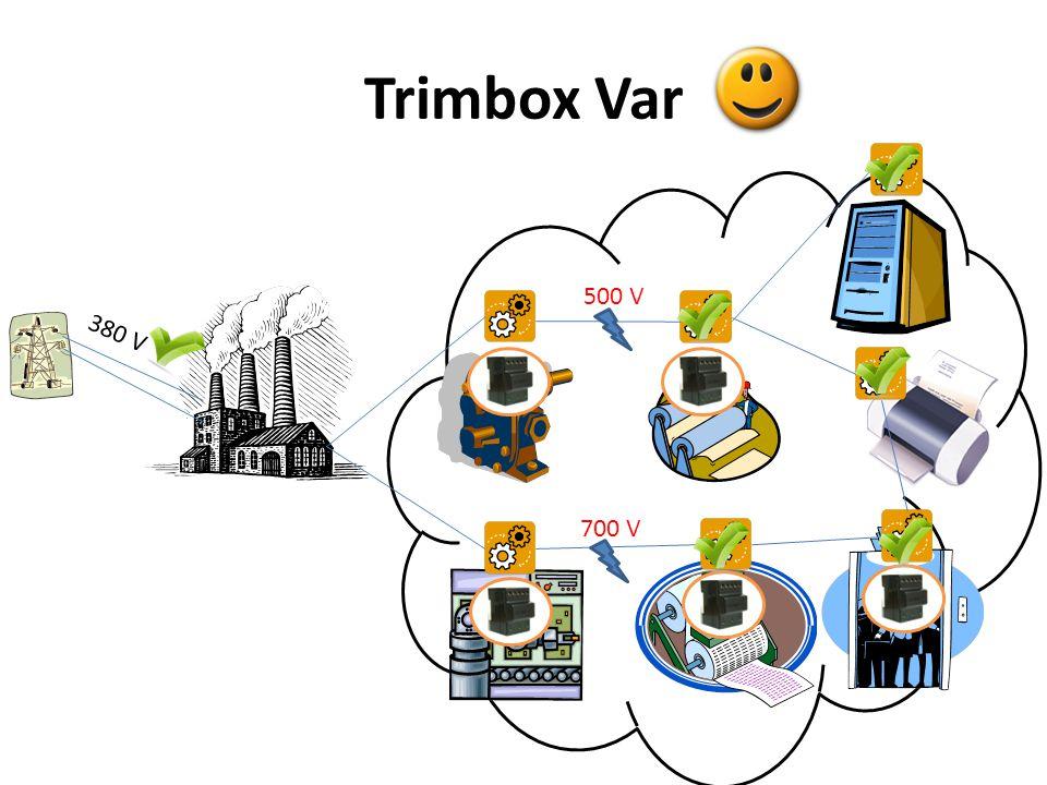 Trimbox Yok Makineleriniz sık sık bozuluyor mu? 380 V 500 V 700 V