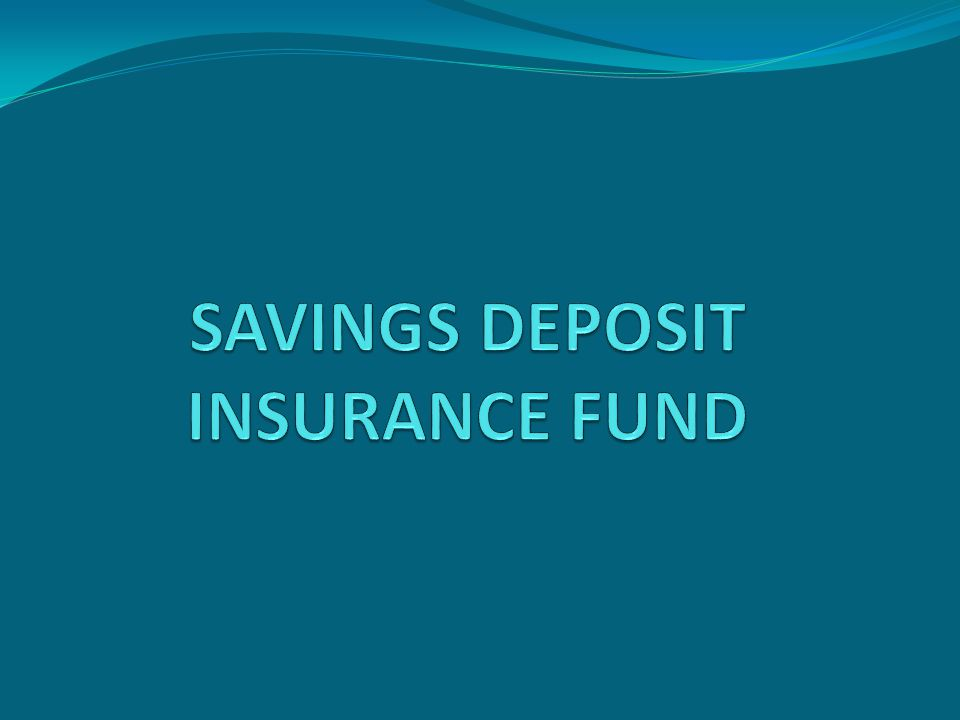  Deposit insurance system is the most advanced association among those established up to now for the protection of deposits.