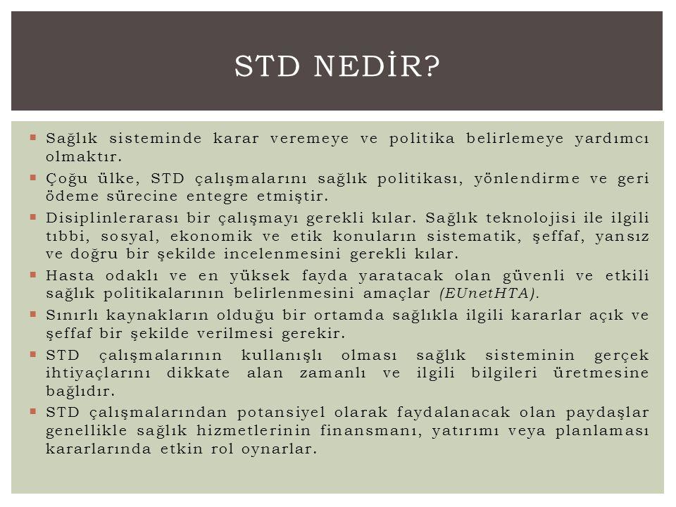 Kaynak DeğerKanıt STD NEDİR?
