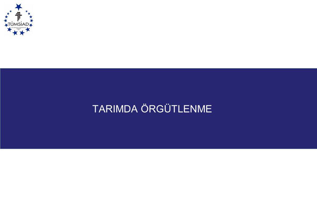 TARIMDA ÖRGÜTLENME