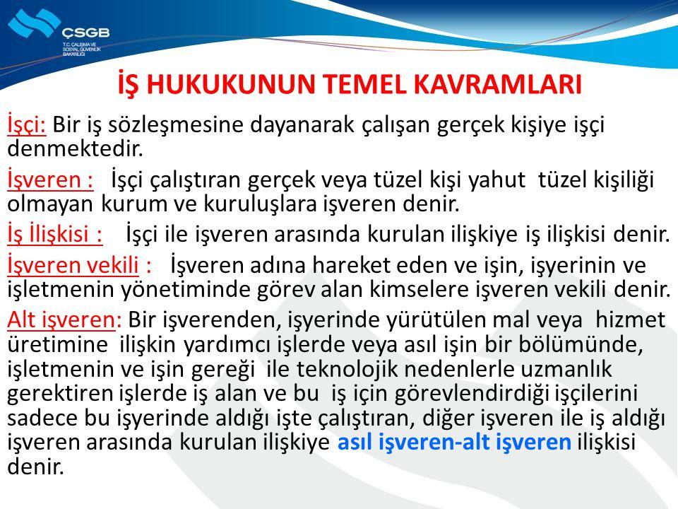 BİLDİRİMSİZ FESHİN SEBEPLERİ bb.