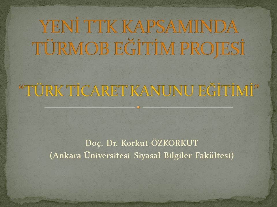 Doç. Dr. Korkut ÖZKORKUT (Ankara Üniversitesi Siyasal Bilgiler Fakültesi)