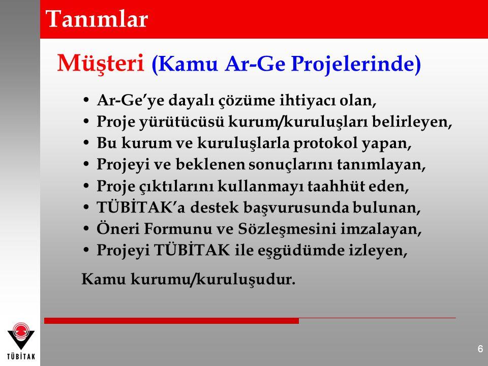 • Proje Yürütücüsü Kurum/Kuruluş sorumlulukları nelerdir.