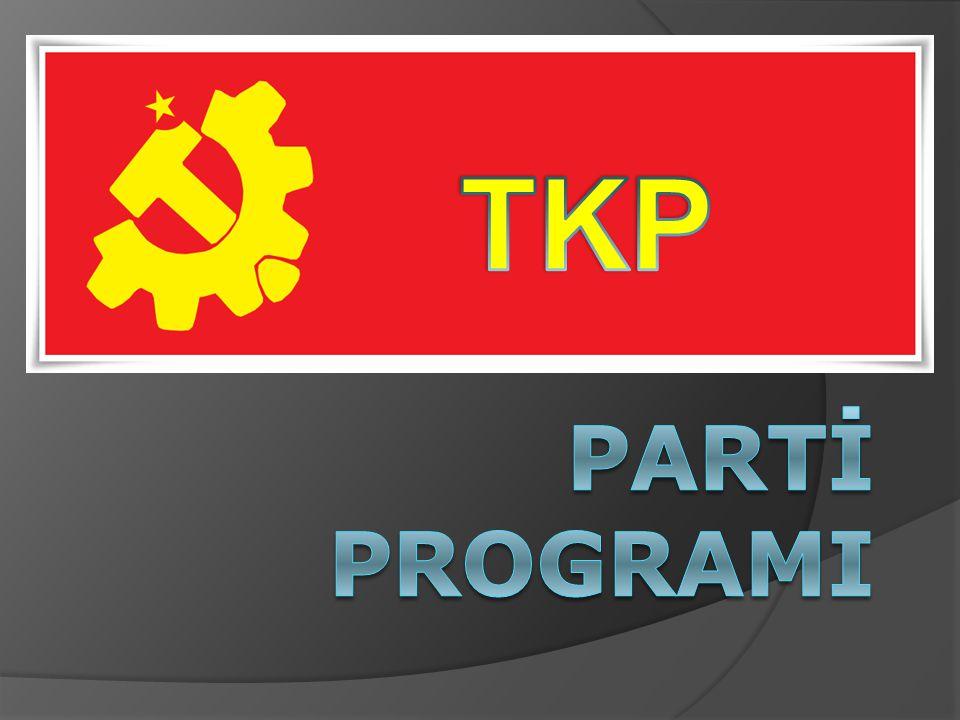 Kapitalizmin tüm toplumsal ilişkileri ve yapıları belirleyecek ölçüde gelişmiş hale gelmesi, mevcut başlıca sorunların kapitalizmin işleyişinin parçası olması ve işçi sınıfımızın maddi varlığı, Türkiye sosyalist devriminin nesnel temellerini oluşturur.