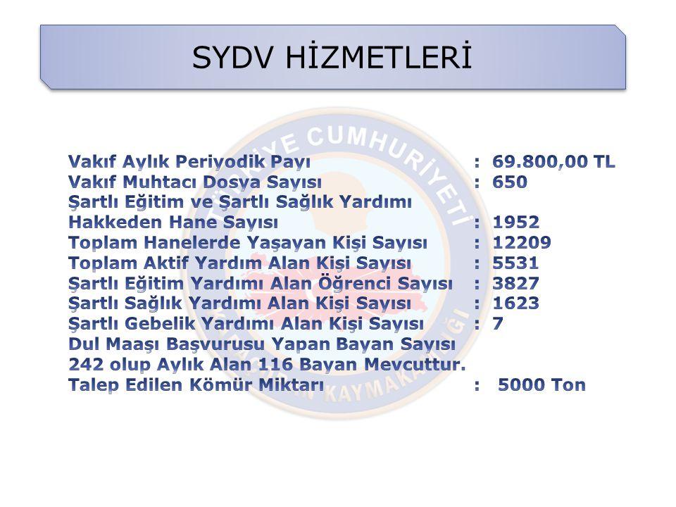 SYDV HİZMETLERİ