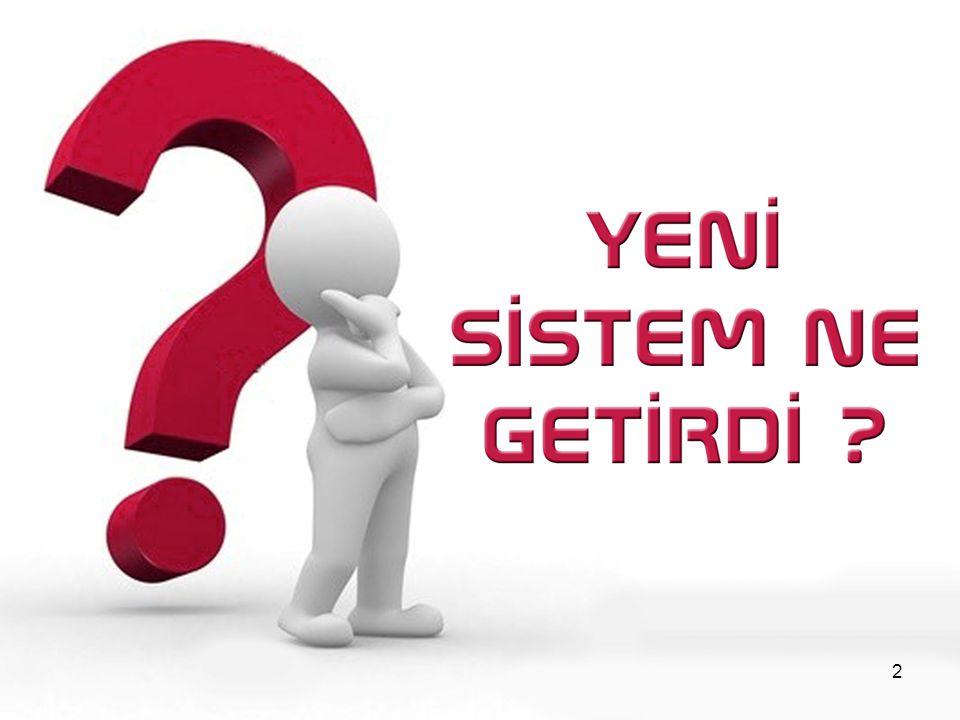 YGS (Yükseköğretime Geçiş Sınavı) ve LYS (Lisans Yerleştirme Sınavı) ile üniversiteye geçiş sistemi iki aşamalı hale getirildi.
