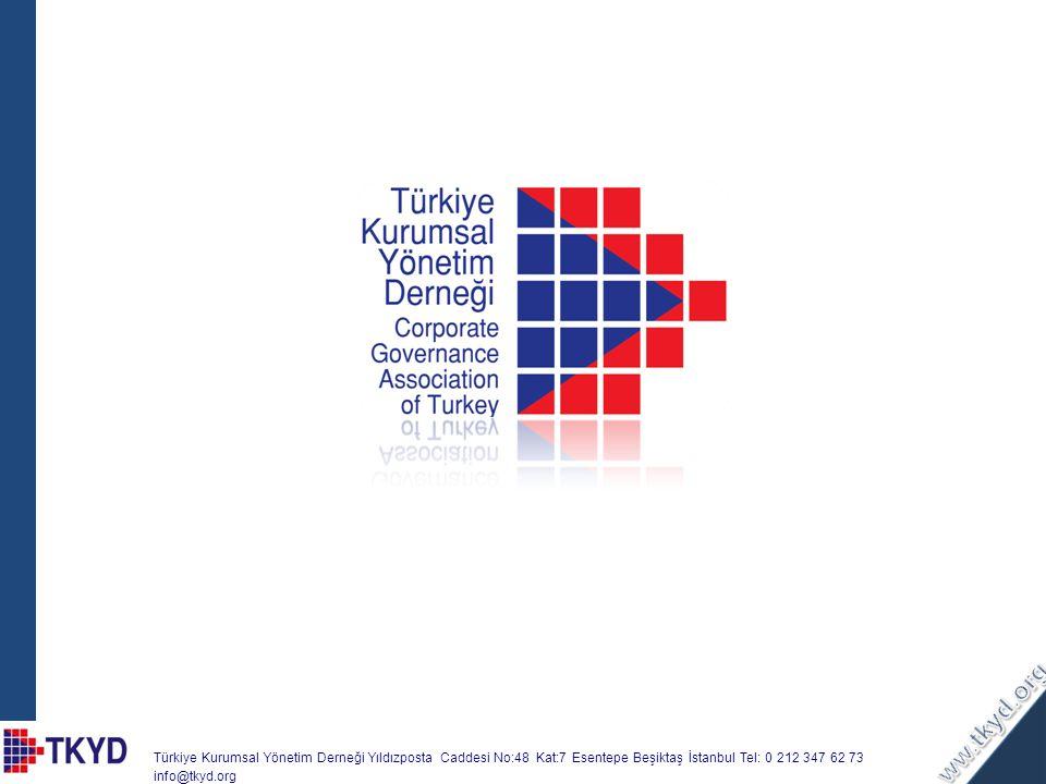 Türkiye Kurumsal Yönetim Derneği Yıldızposta Caddesi No:48 Kat:7 Esentepe Beşiktaş İstanbul Tel: 0 212 347 62 73 info@tkyd.org