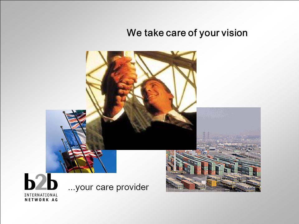 Lojistik Merkezi © Copyright b2b Fulfillment Hamburg - 2003 Lojistik Merkezi Hamburg / Germany ğ We take care of your vision...your care provider