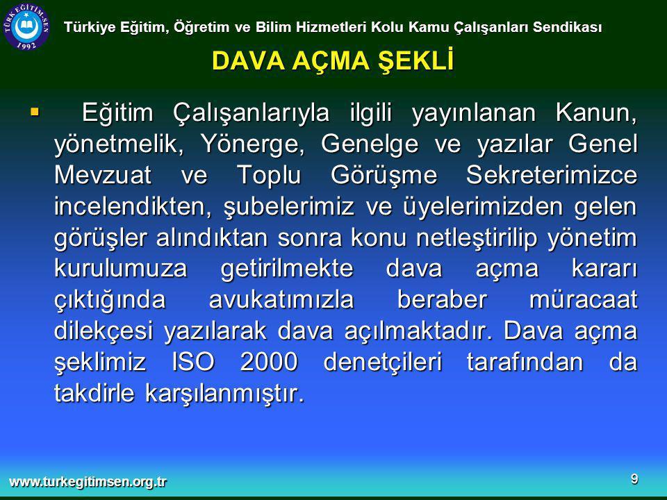 www.turkegitimsen.org.tr 20 MEB'E 2006 YILINDA YAZILAN RESMİ YAZILARIN KONULARINA GÖRE DAĞILIMI (TOPLAM 82) Türkiye Eğitim, Öğretim ve Bilim Hizmetleri Kolu Kamu Çalışanları Sendikası