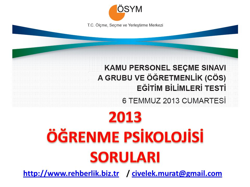 http://www.rehberlik.biz.trhttp://www.rehberlik.biz.tr / civelek.murat@gmail.comcivelek.murat@gmail.com